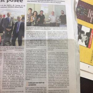 Journal l'Alsace, 13 Juillet 2017